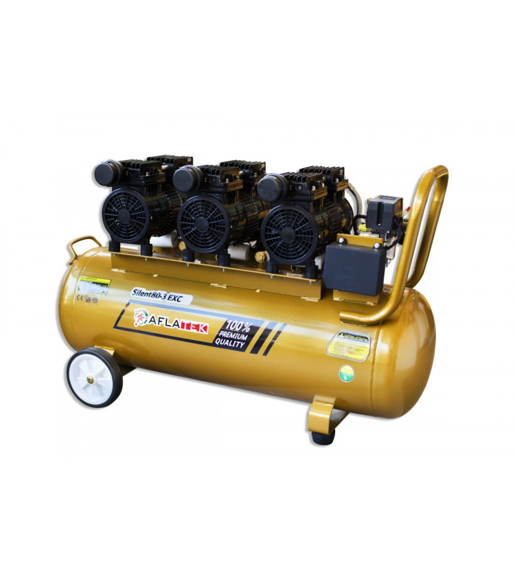 Kompresors Aflatek Silent 80-2 EXC