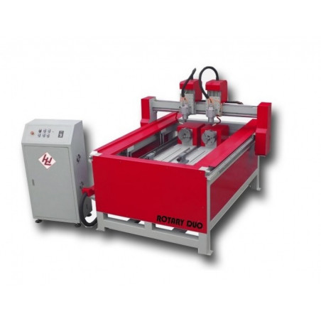 CNC frēze Winter ROUTERMAX 1118 ROTARY DUO