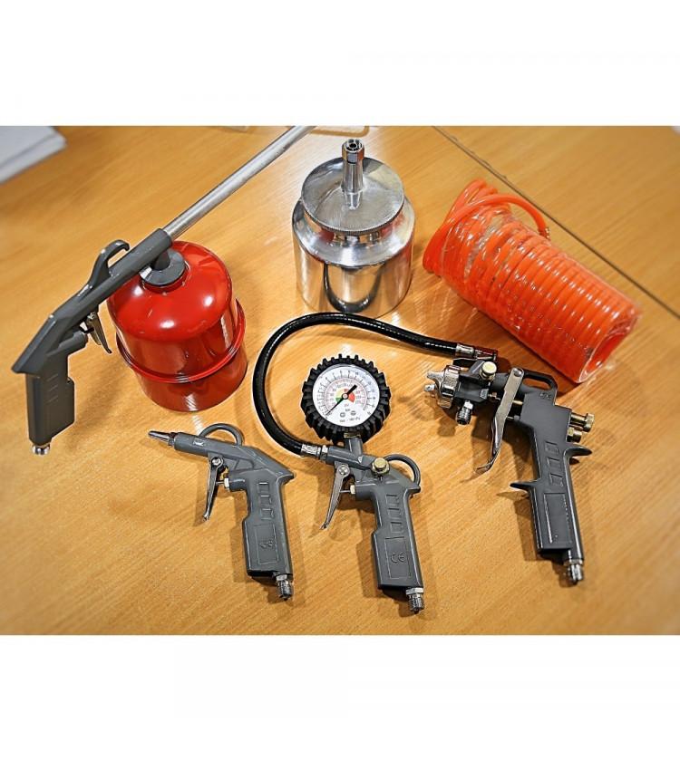 Kompresora pistoļu komplekts Aflatek DS-2000A5