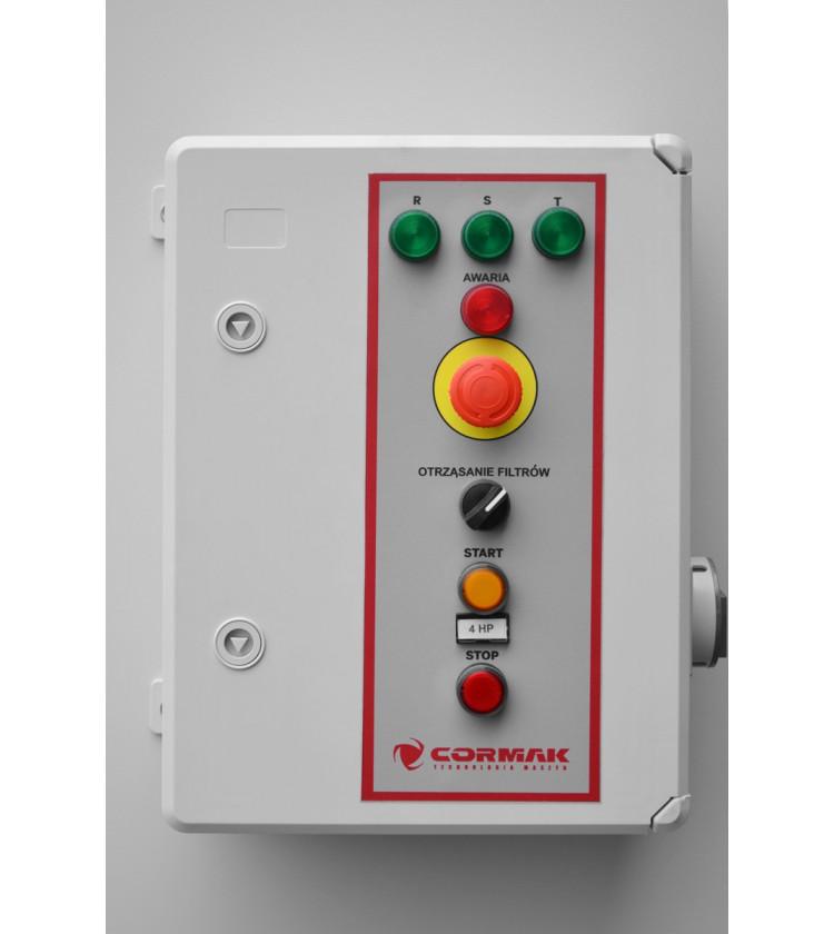 Industriālais putekļu nosūcējs CORMAK DCV4500