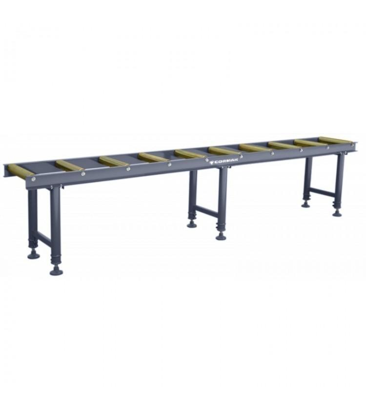 Ruļļu galds 3m (10 ruļļi)