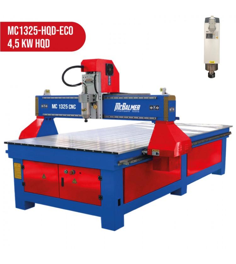 1300x2500, 4,5kW HQD, 400V CNC frēze McBalmer (bez vakuuma)